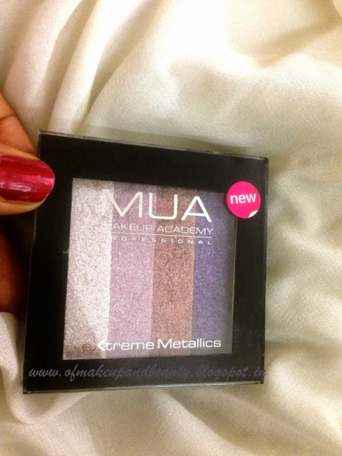 "MUA Extreme Metallics - ""Celebrity"" Eye Shadow Palette"