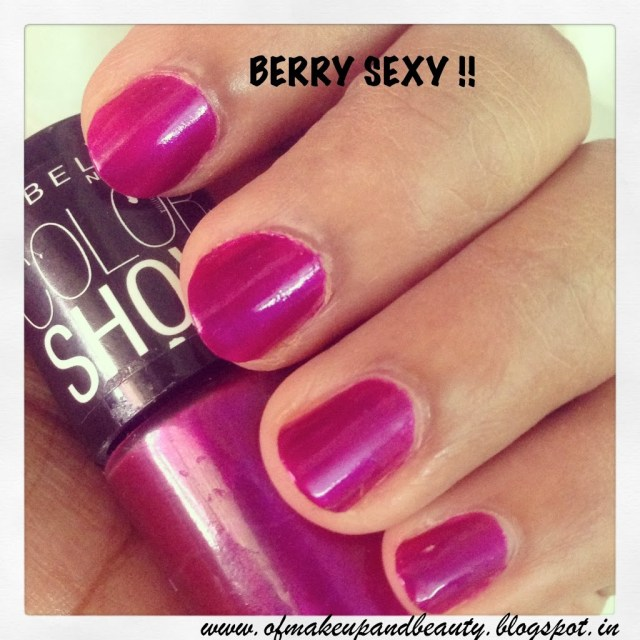 Maybelline Color Show Nail Polish - Berry Sexy