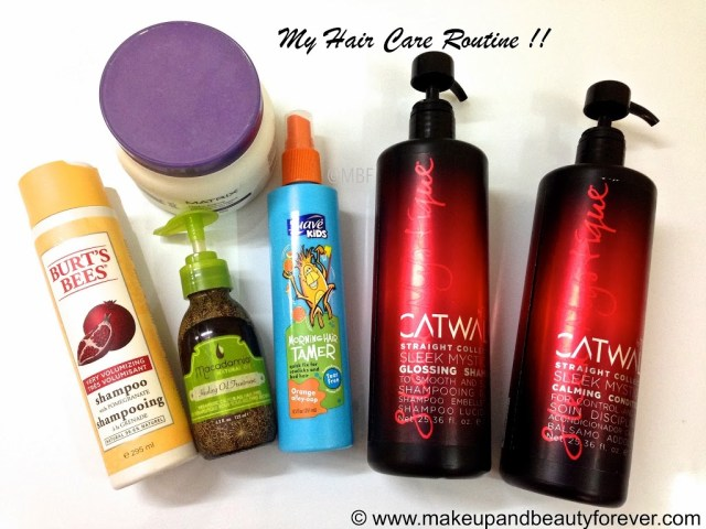 My Hair Care Routine and a little story MBF