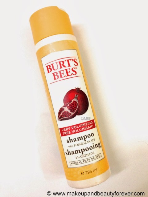 Burt's Bees Very Volumising Shampoo with pomegranate MBF