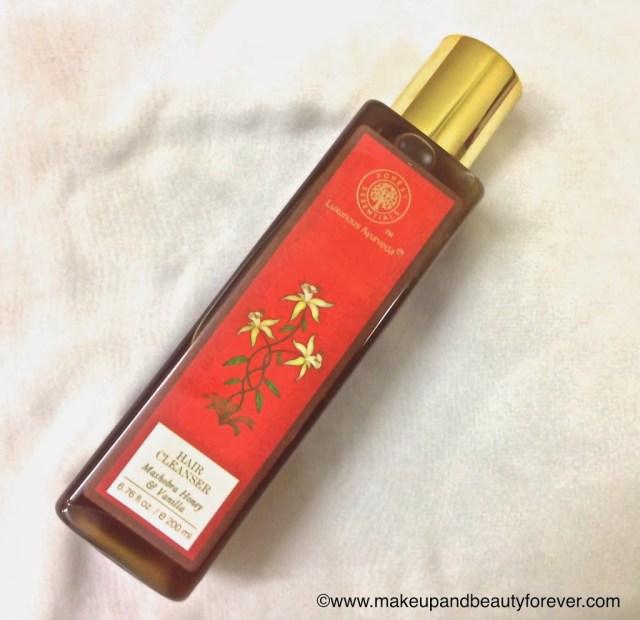 Forest Essentials Mashobra Honey & Vanilla Hair Cleanser Makeup and beauty