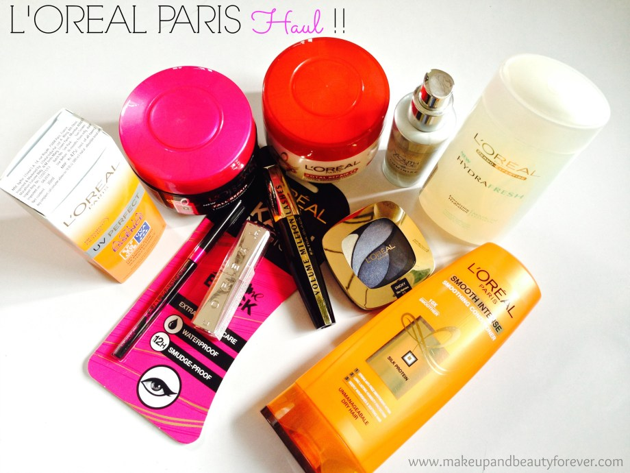 L'Oreal Paris Products in India