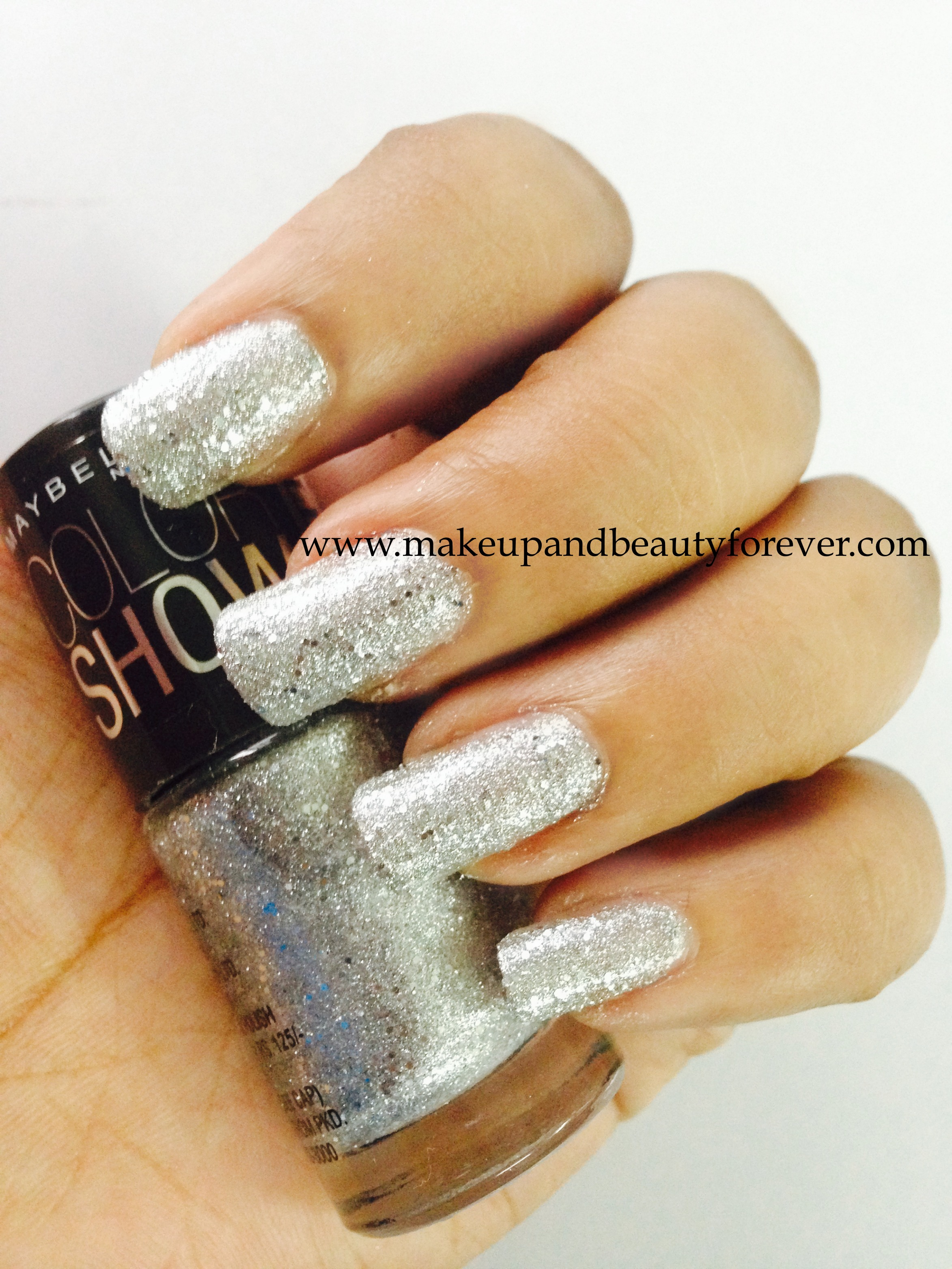 All Maybelline ColorShow Glitter Mania Nail Paints Review, Photos ...