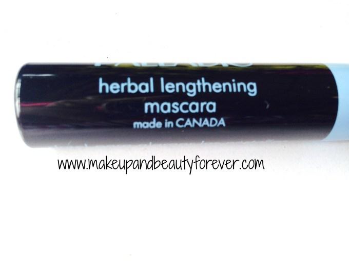 palladio herbal lengthening mascara