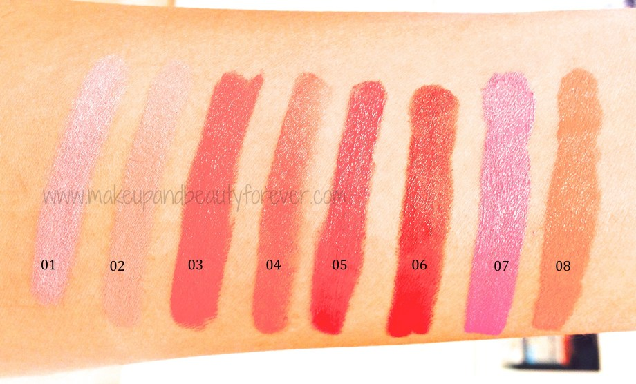All Chambor Geneva Extreme Matte Long Wear LipColour Mattestick Review Price Shades Swatches