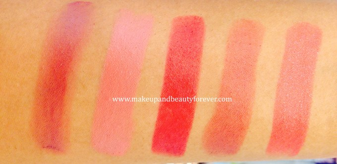 All Lakme Absolute Matte Lip Colours Review, Swatches, Shades, Price Details