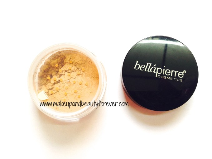 Bellapierre Mineral Foundation in fab bag sept 2014