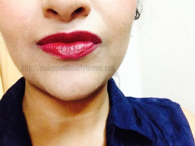 Colorbar Velvet Matte Lipstick – Passion Shade No 5