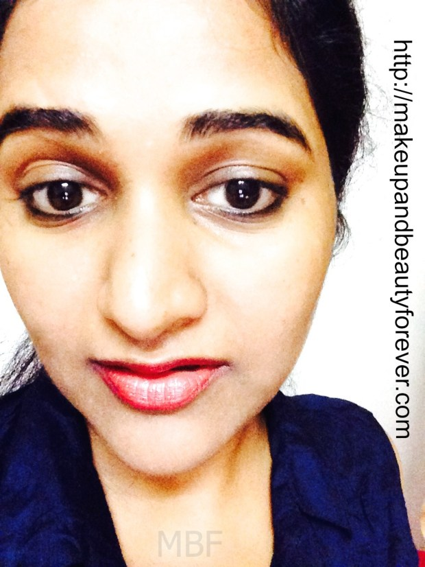 Faces Canada Go Chic Lipstick Claret Cup 416 Review