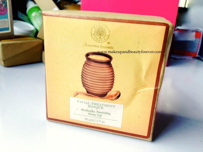 Forest Essentials Facial Treatment Masque Madhulika Nourishing Honey Lep