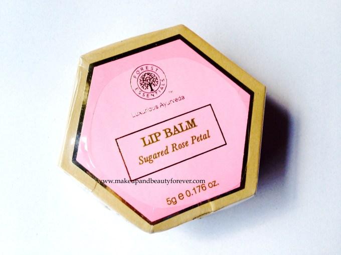 Forest Essentials Lip Balm Sugared Rose Petals