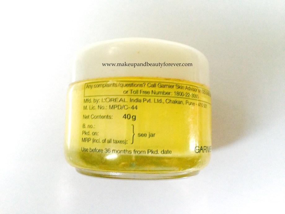 Garnier Skin Naturals Light Daily Moisturiser for Fairness Dark Spot Prevention Review