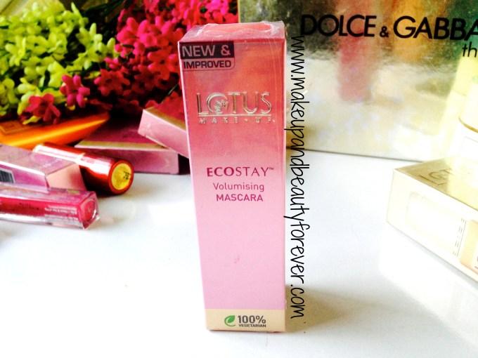 Lotus Herbals Ecostay Volumising Mascara