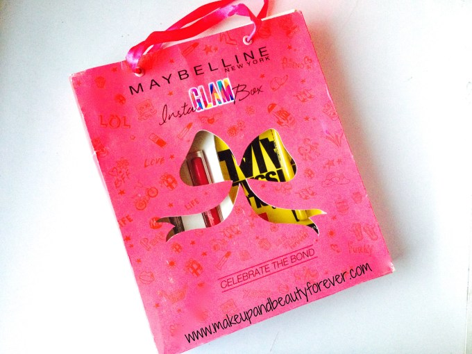 Maybelline InstaGlam Box - Celebration of Bonds : First Impressions