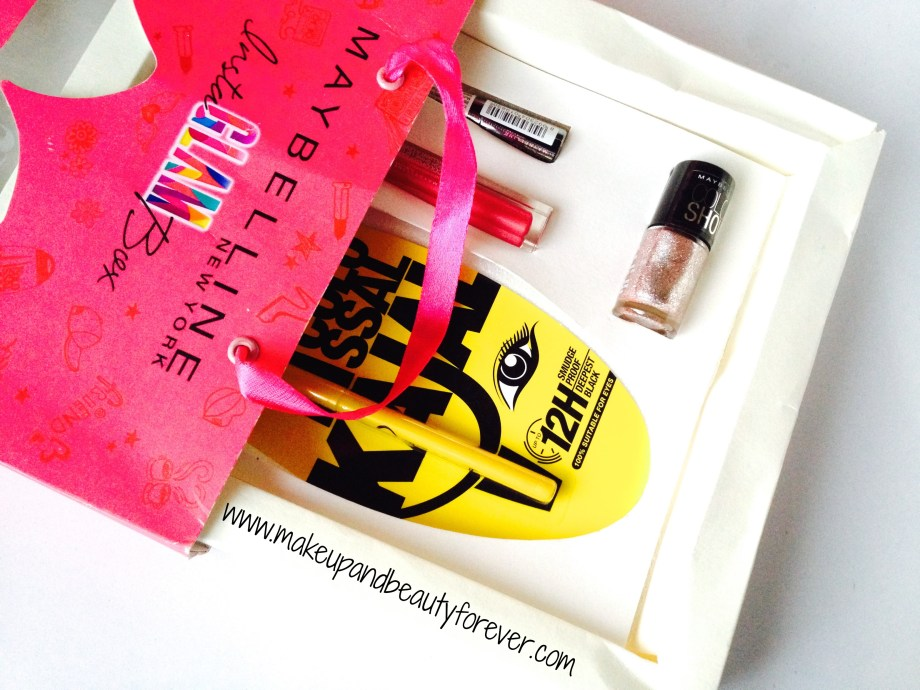 Maybelline InstaGlam Box - Celebration of Bonds review and price