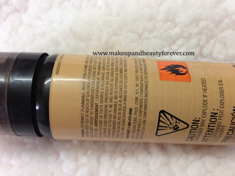 Revlon Photoready Airbrush Mousse Makeup Foundation Review details
