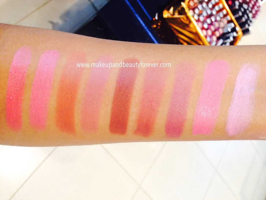 All Lakme 9 to 5 Lipsticks