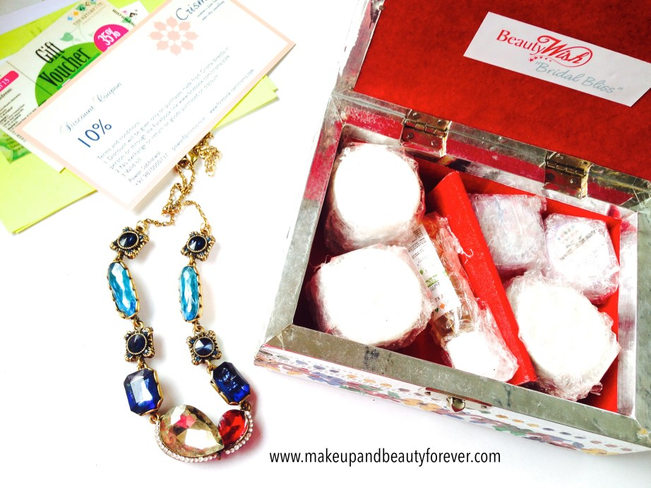 Beauty Wish Box October 2014 - Bridal Bliss The Nature's Co