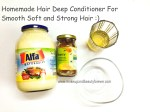Do It Yourself – Homemade Hair Deep Conditioner with Apple Cider Vinegar, Mayonnaise and Honey for Smooth Soft and Strong Hair