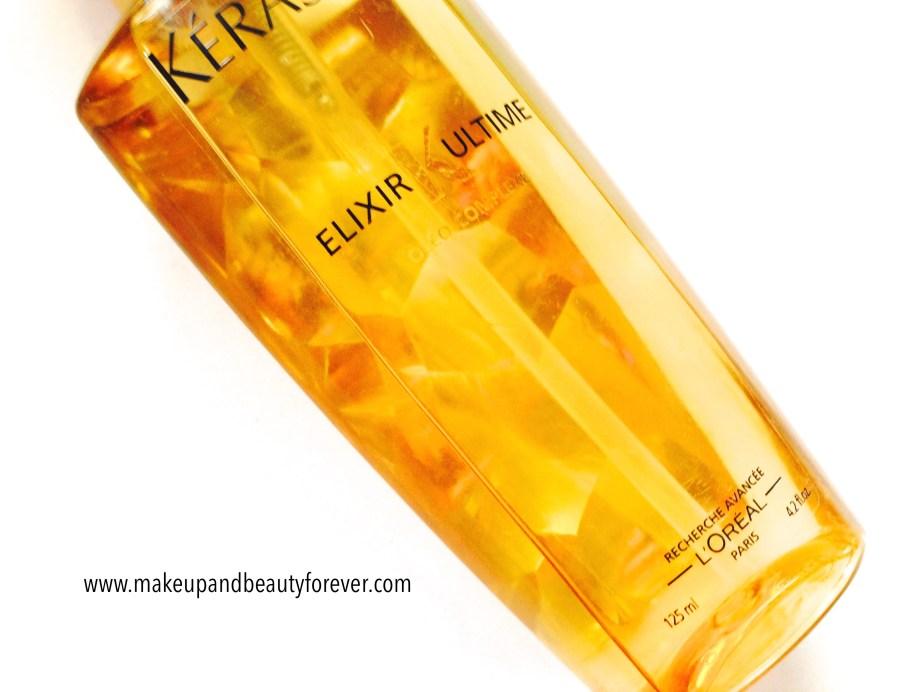 Kerastase Elixir Ultime by Loreal Paris Review Swatches India price