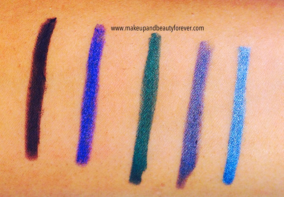 Lakme Absolute Forever Silk Eye Liner Review, Shades, Swatches, Price and Detail