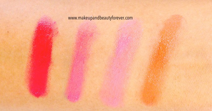 Lakme Absolute Lip Tint Review, all Shades, Swatches, Price Details
