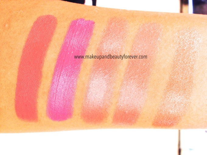 Lakme Lip Love Lipsticks Review, Shades Swatches, Price and Details