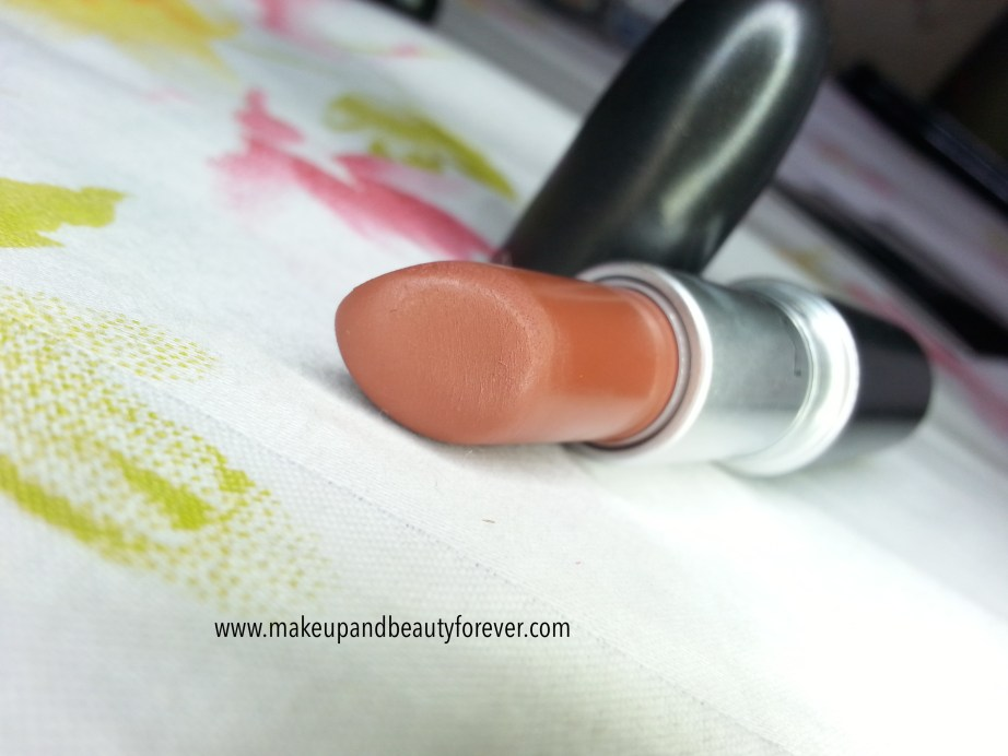 MAC Matte Lipstick Taupe Review, Swatches and LOTD MBF