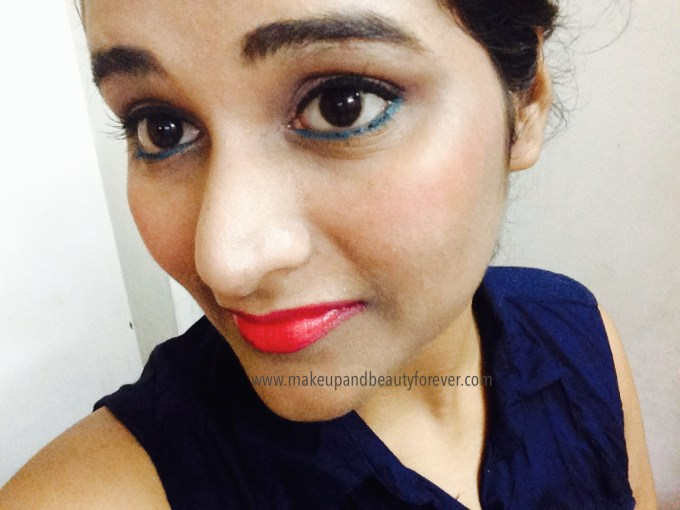 Maybelline Color Show Lipstick Cherry Crush 207 Review, Swatch, Price FOTD Astha MBF