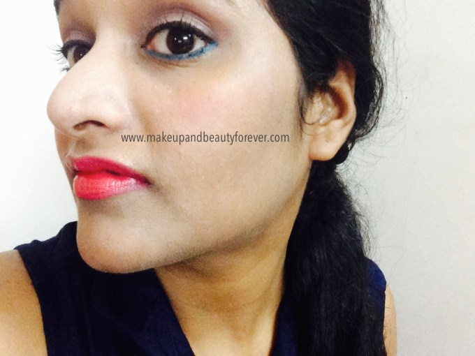 Maybelline Color Show Lipstick Cherry Crush 207 Review Swatch, Price, FOTD