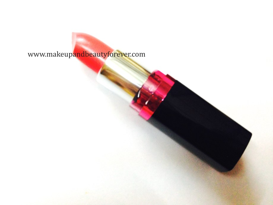 Maybelline ColorShow Lipstick Crushed Candy 103 Review, Swatch, Price, FOTD girls