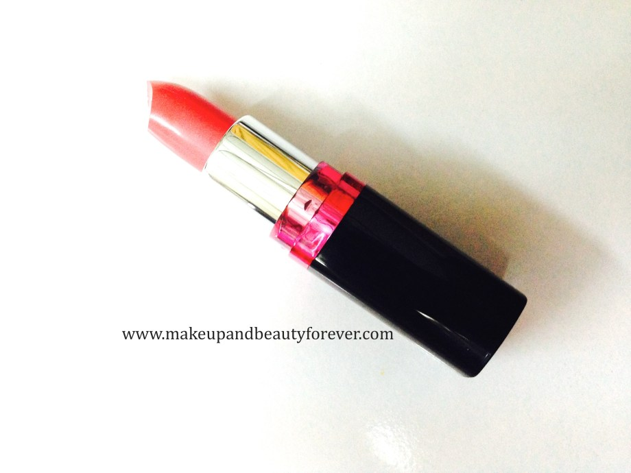 Maybelline ColorShow Lipstick Crushed Candy 103 Review Swatch, Price FOTD