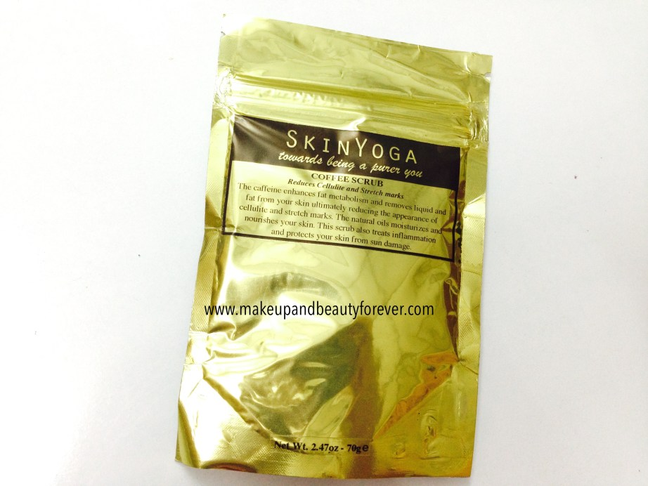 SkinYoga Coffee Body Scrub Review in india