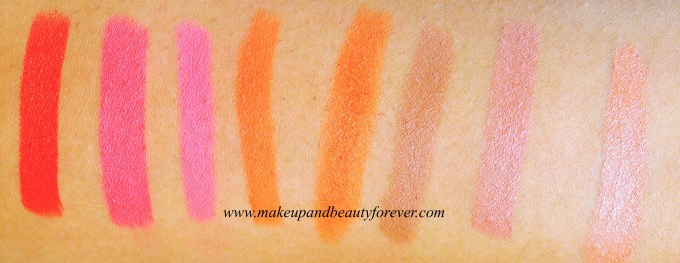 All Colorbar Take Me As I Am Lipstick Review, Shades, Swatches, Price and Details MBF India