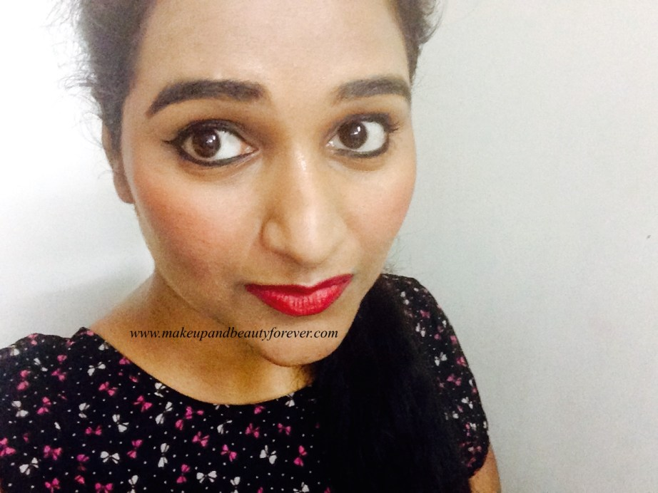 Colorbar Full Finish Long Wear Lipstick Get Ready 11 Review, Swatch, FOTD Astha Goel India