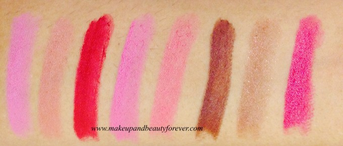 Coloressence Lipstick Lip Color Review, Shades Swatches Price and Details