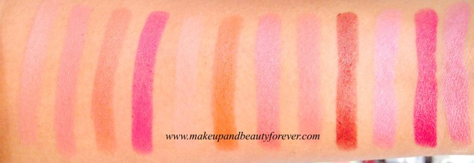Innocently Brown Wicked Brown Rare Truffle En Vogue Tempt Me Plum Show Kiss Me Keep Blushing Plum Dressing Coco Liscious Get Ready Tangy Pink Pure Maroon British Brown Craze Peach Peach Rage Spiced Vintage colorbar india