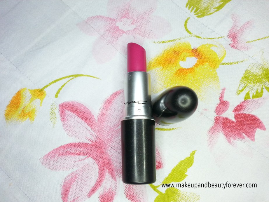 MAC Girl About Town Lipstick Review Swatch LOTD