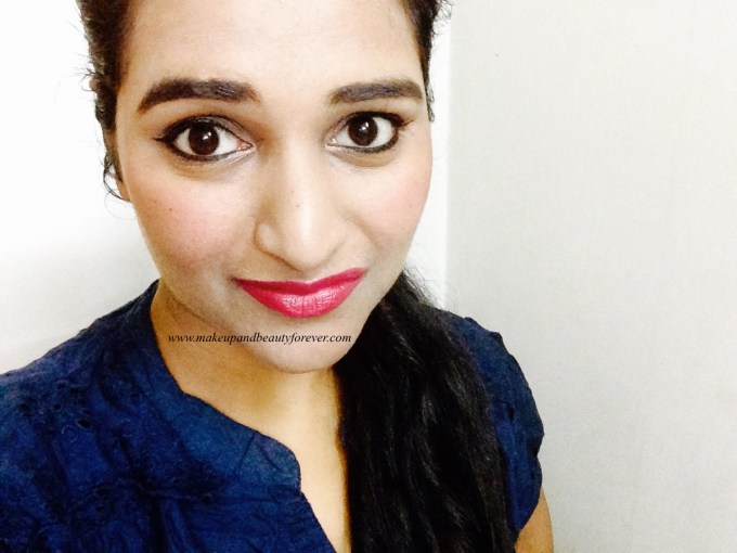 Maybelline ColorShow Lipstick Midnight Pink 111 Review, Swatch, Price, FOTD Astha Goel MBF