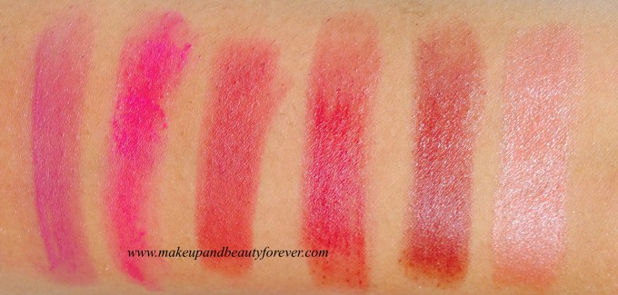 Revlon Colorstay Lipstick Swatches Trendsetter, Catwalk, Socialite, Iconic, Cruise Collection, Couture, Finale, Designer   SuperModel, Muse, Fashionista, Backstage, All Access, Runway