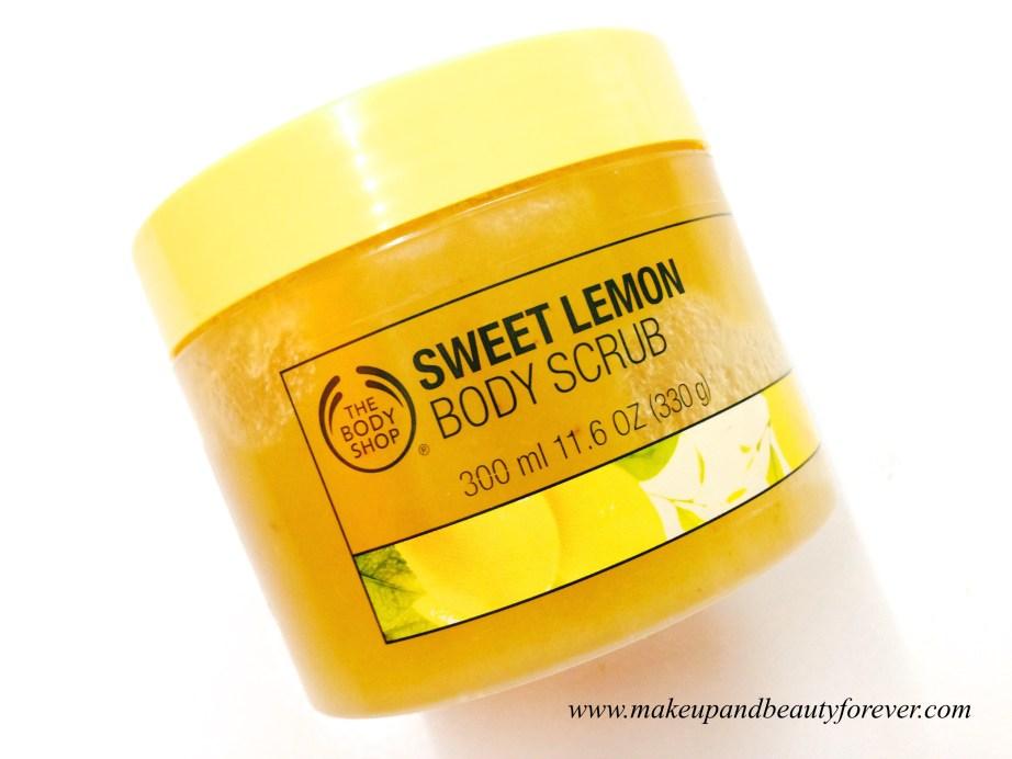 The Body Shop Tendre Citron Exfoliant Corporel : The Body Shop Sweet Lemon Body Scrub Review