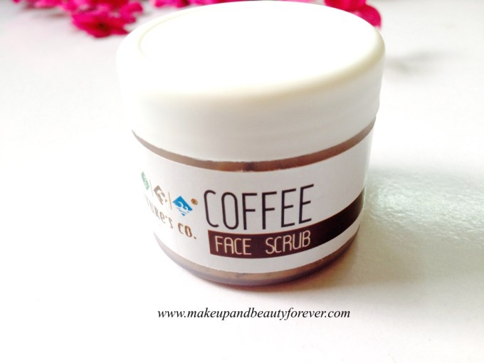 The Natures Co Caffee Face Scrub in Fab Bag October 2014 Diwali edition