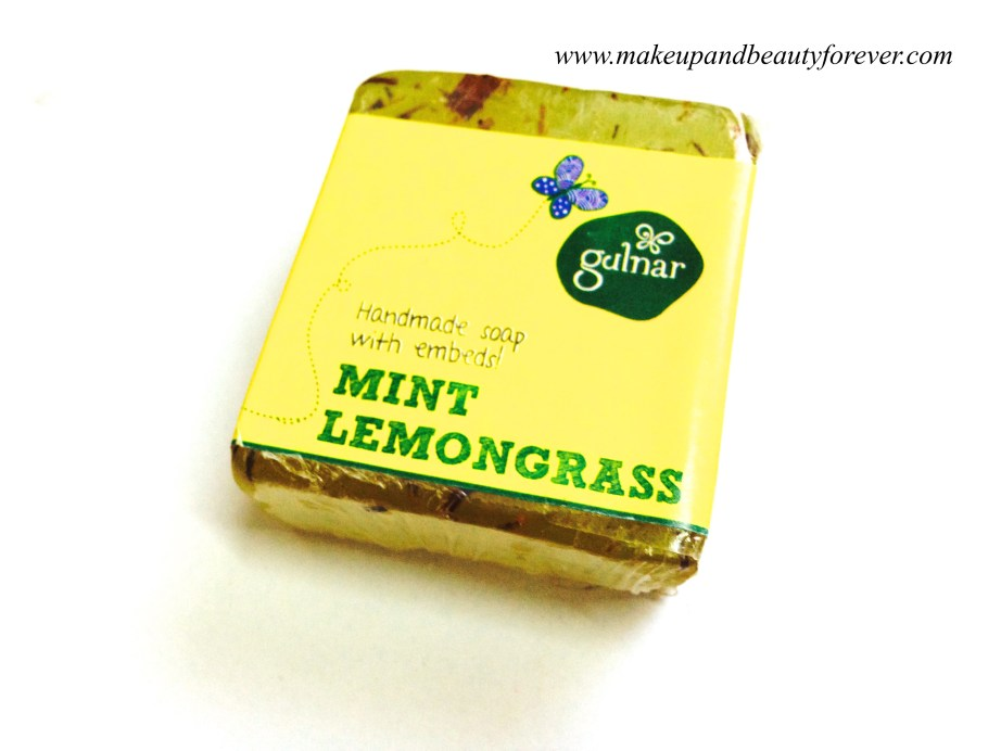 Gulnar Handmade Soap - Mint Lemongrass