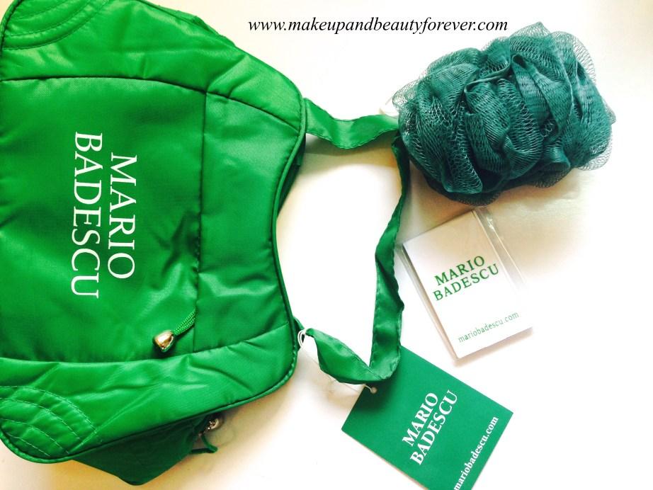 Mario Badescu Products Bag Mirror Bath Sponge