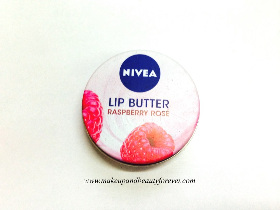 Nivea Lip Butter Raspberry Rose Review MBF