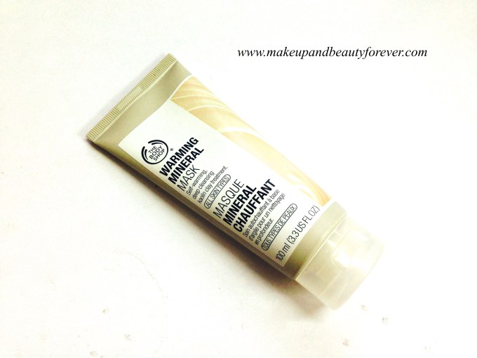 The Body Shop Warming Mineral Mask Review