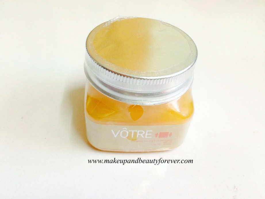 Votre Mangifera Hand and Foot Gel Creme SPF 15