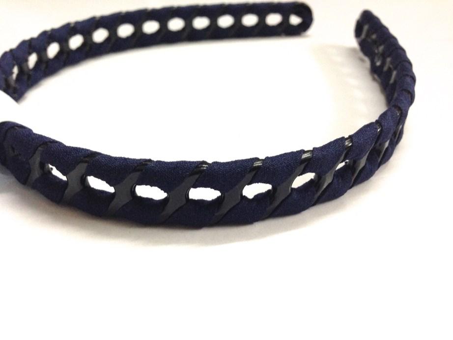 Blue Black Hairband