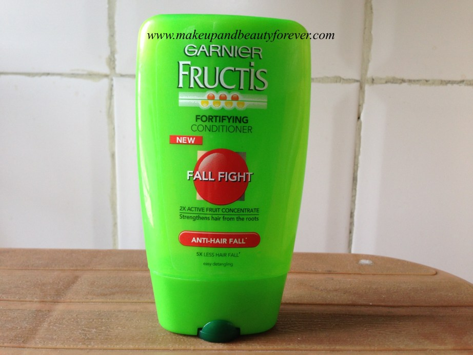 Garnier Fructis Fall Fight Anti Hair Fall Fortifying Conditioner Review