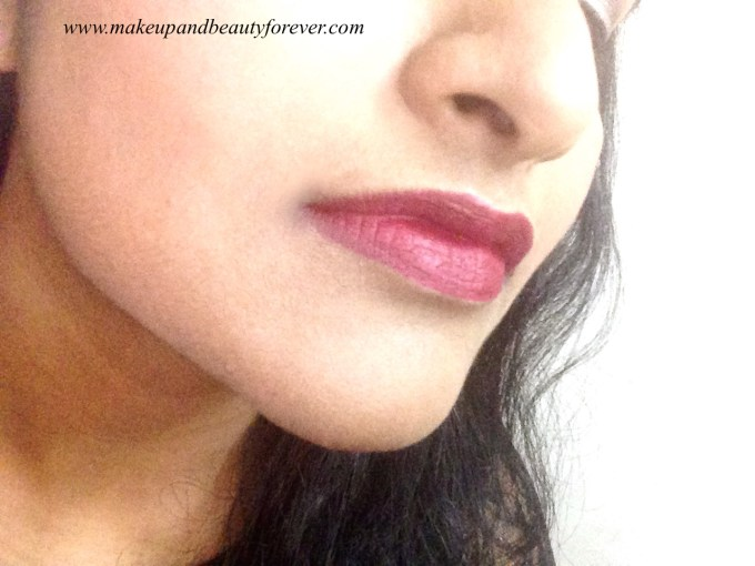 L'Oreal Color Riche Pure Reds Star Collection Pure Garnet Lipstick Review Swatch LOTD FOTD Pretty